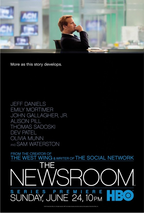 The Newsroom (HBO), la serie que odias amar