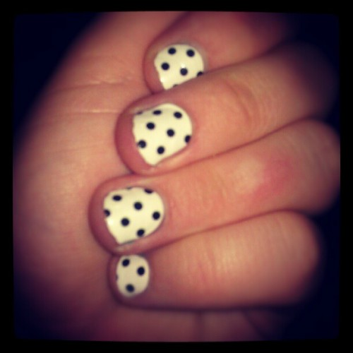 New manicure :) #nails  (Taken with Instagram)
