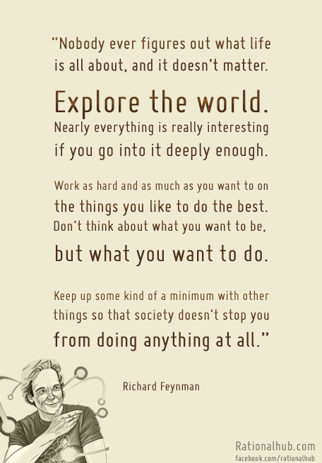 rationalhub:  Just can't get enough of Richard Feynman. Legend.