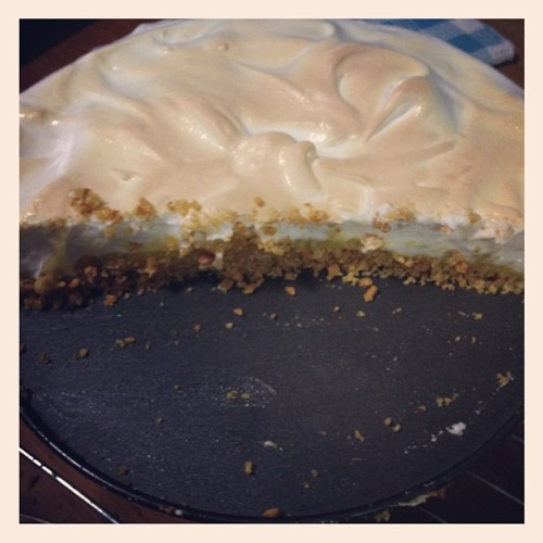 #yum #lemon #meringue #pie #baking #success  (Taken with Instagram)