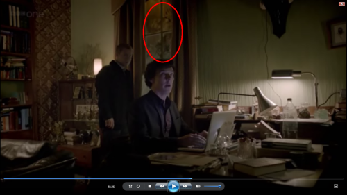 blood-pulsation:  sherlock-deduction:  cameo-of-vatican:  theconsultingvulcan:  Lets deduce then shall we? A hand is clearly leaning against the window. Now we know people have been in Sherlock's home, but they left no finger prints since the only way for Sherlock to find out where they had been was via dust. So it had to be someone who is welcome in the apartment.  If you look at how high the hand is, they are tall. So that clearly rules out John and Mrs Hudson.  Now if you will, notice the smudge marks in a circle just under it. About the size of a head. But if you look at the hand its flat on the glass meaning the person who made it had to have been facing the window, the other smudge was made by someone who was facing the other way… Now who is tall with big hands that is often in the apartment? Not a big stretch to establish that is Sherlock's hand print. Here is where it gets juicy…   The head smudge is just taller then John.  SO in conclusion.  I put forward, John was lifted by Sherlock, back and head to the window, while Sherlock had his hand on the window for support…. Thank you. Good day sir.  i love this fucking fandom  Fucking beautiful  This is the best fandom ever.  Proof we need Series 3, pictured above.