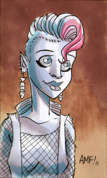 thehappysorceress:  Delirium by Tony Fleecs Magic Monday