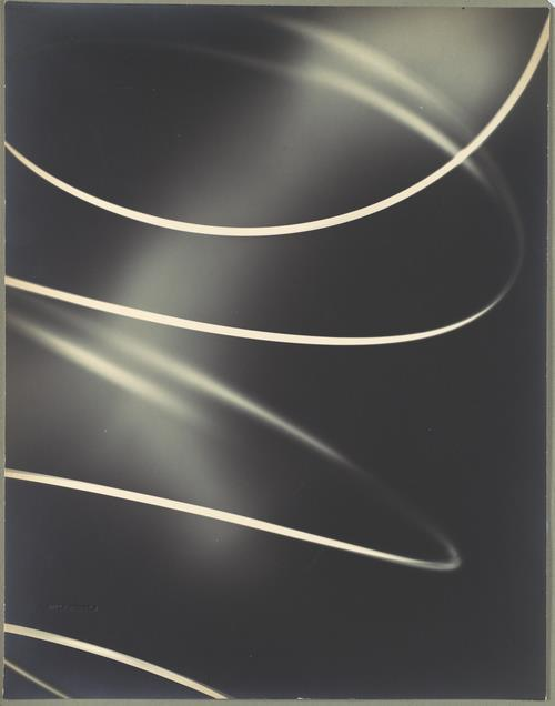 Willy Kessels - Photogram; Spiraling Coil, circa 1930