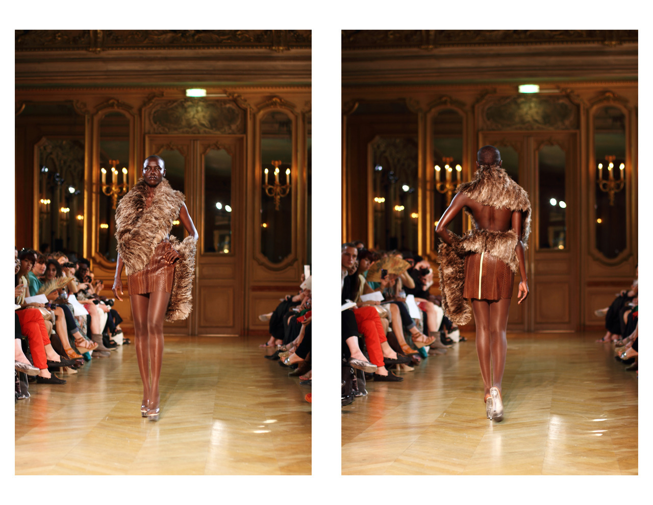 Serkan Cura Haute-Couture show.  Fall/Winter 2012 collection.  Paris Haute Couture Fashion Week, July 2012.  www.bewaremag.com