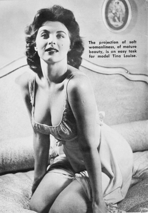 From Chicks and Chuckles, April 1956. Vintage Scans