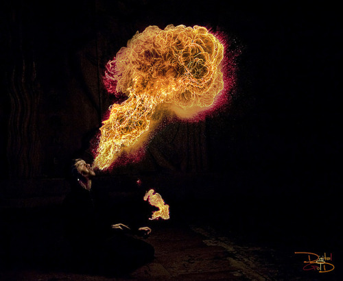Atomic Mushroom - Parisian Fire Breather by DiGitALGoLD on Flickr.