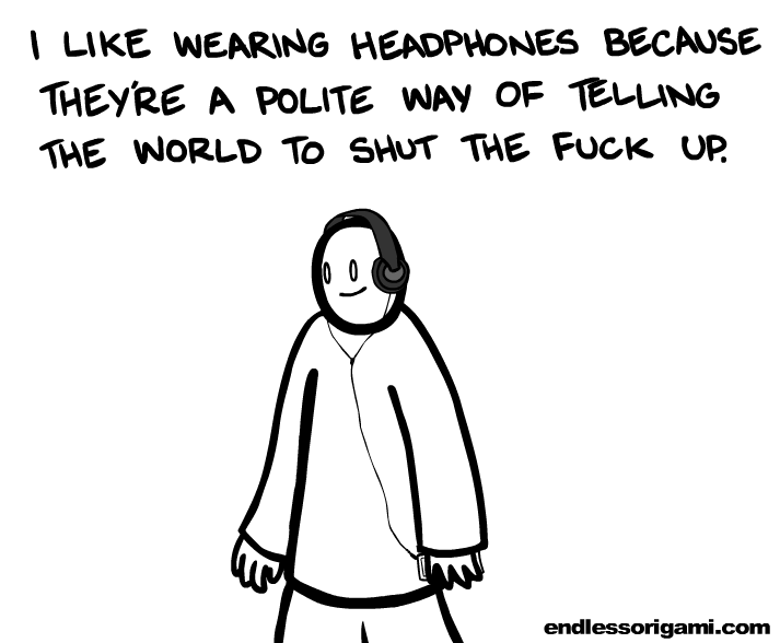 laughingsquid:  Headphones