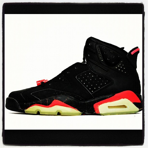 I need this in my life #jordan 6's #LoveOfMyLife #InfraReds  (Taken with Instagram)