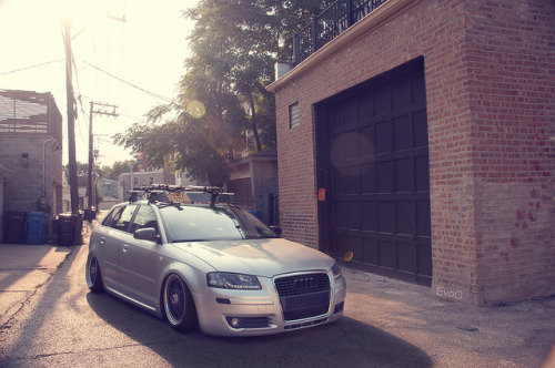theautobible:  Tung's Slammed Audi by Evano Gucciardo on Flickr.