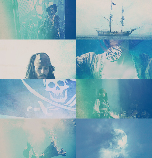 Pirates of the Caribbean + Blue; requested by girlshavegotballs