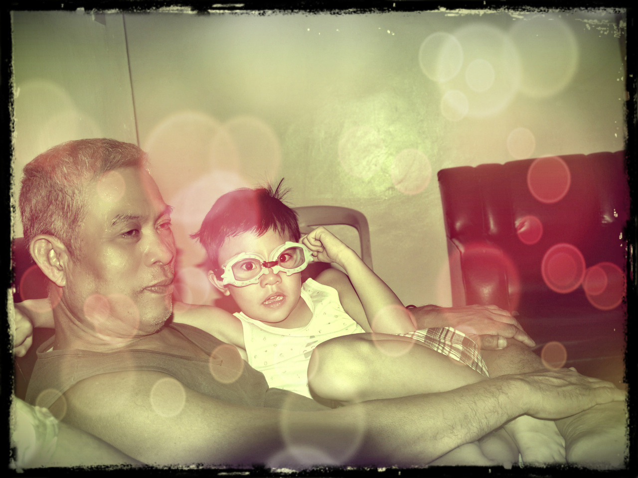 Papy and Luke
