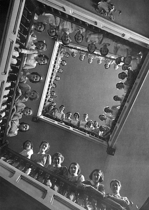 Nurses at Roosevelt Hospital, New York City, 1937 (Alfred Eisenstaedt)