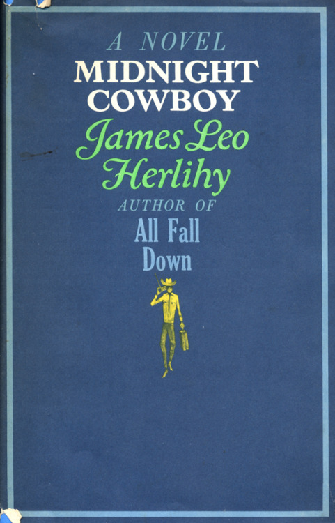 Midnight Cowboy by James Leo Herlihy • Jacket design by Paul BaconSimon and Schuster, 1965