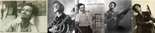 Happy Belated 100th Birthday Woody Guthrie.  Listen to: Outernational ft. Tom Morello - Deportees
