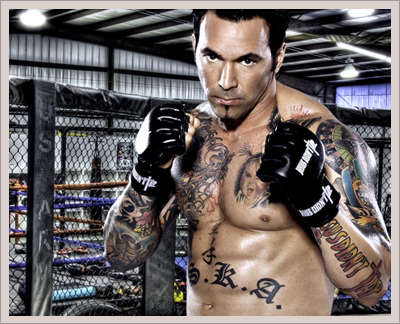 you know your childhood was awesome when your fav power ranger becomes an MMA fighter