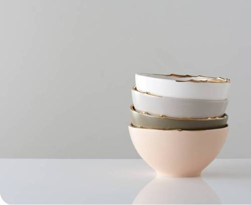 Covet: Flawed Gold-Plated Bowls from Gretel