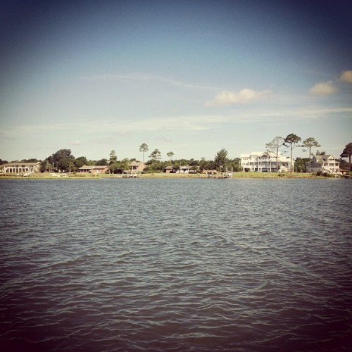 Beachfront property (Taken with Instagram at Bear Island Ferry)