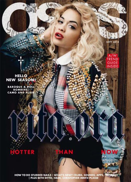 Snapshot: Rita Ora for ASOS Magazine September 2012