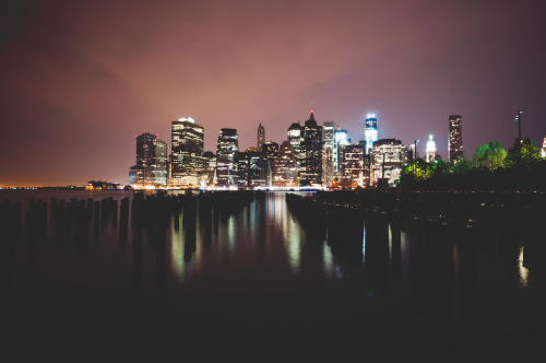 chrisozer:  New York at Night  Welcome to my city.
