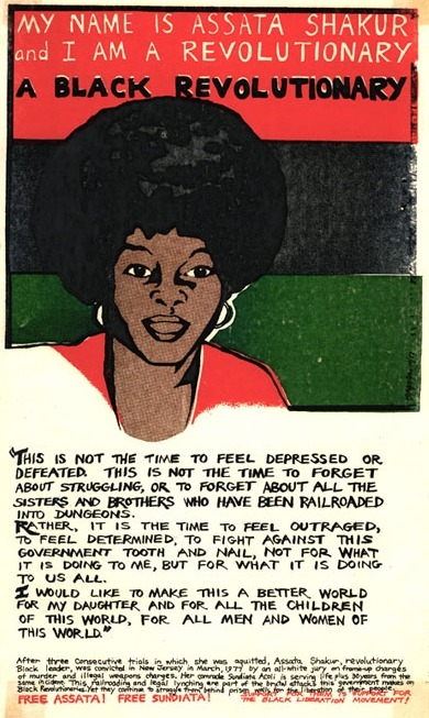 fuckyeahmarxismleninism:  July 16, 1947: Birthday of comrade Assata Shakur, revolutionary Black freedom fighter and escaped U.S. political prisoner, currently living in exile in socialist Cuba.
