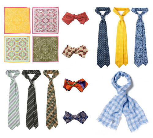 Drake's sale has begun. 30% off ties, scarves, and handkerchiefs.