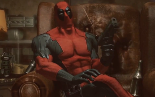 secret-lair:  Deadpool Has A Video Game ComingWell, this is a surprise. Granted, Deadpool is popular enough to merit the occasional USA Today story, but he's not yet a big gun and his introduction to film viewers was a bit of a disaster. Nonetheless, it is a pretty big surprise, especially from Marvel. Here's the trailer… Yes, that's Nolan North. Apparently he's going to be Deadpool until he dies. Source: Uproxx