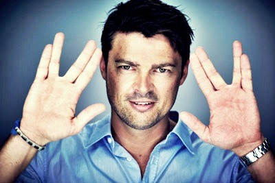 Karl Urban at Comic-Con