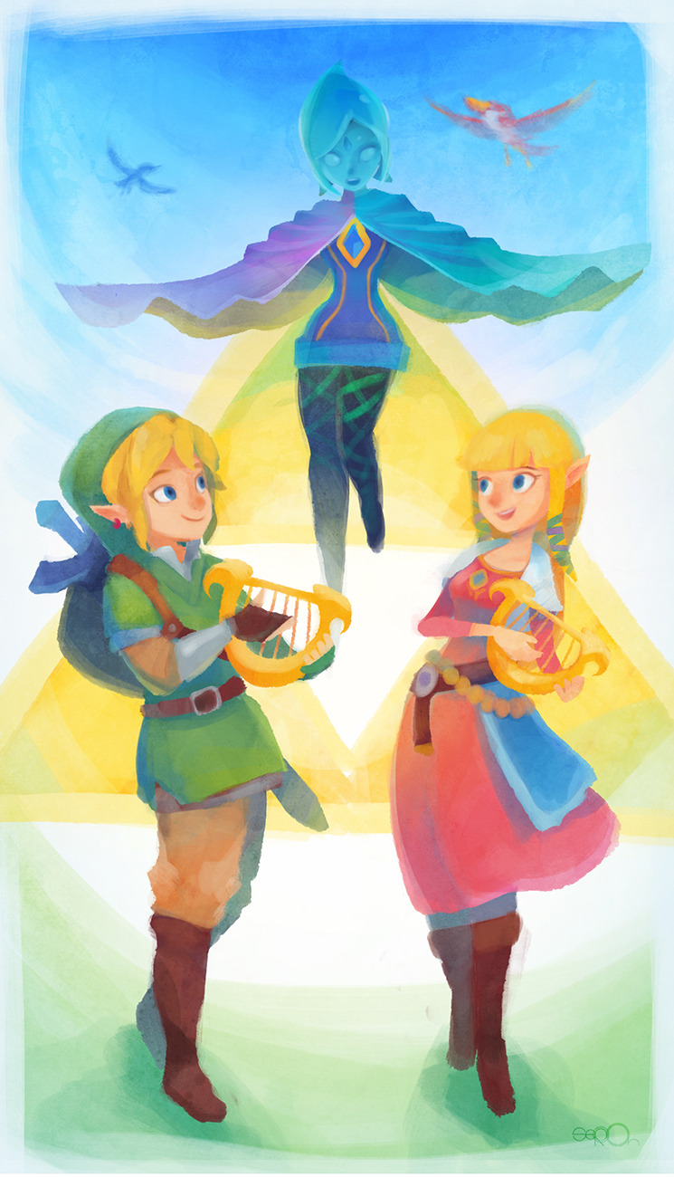 geeksngamers:  Skyward Sword - by zgul-osr1113