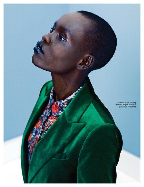 [FASHION] Grace Bol in ELLE Netherlands. Pic via.