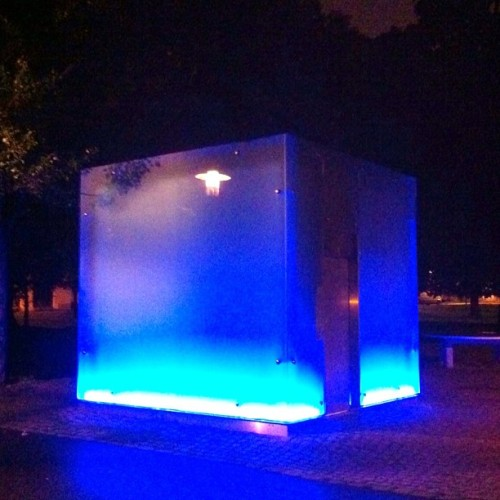 Cool place to take a piss in Oslo… #restroom  (Taken with Instagram)