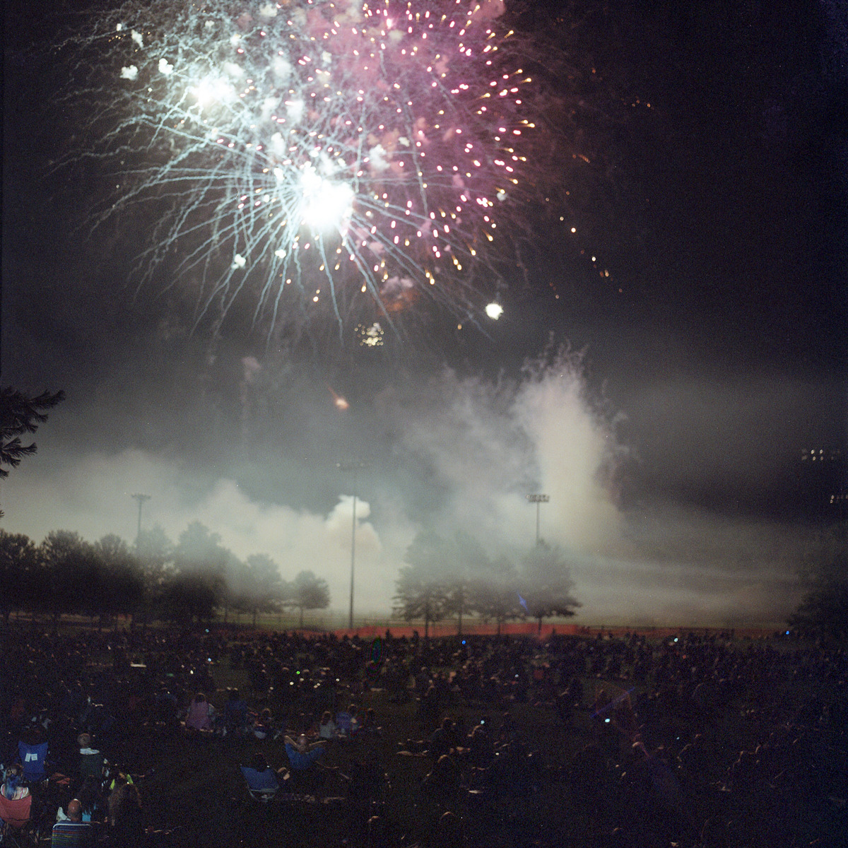 kbeiermeister:  Fireworks Pt. 1  Favorite thing of the day. My friend Kyle takes amazing photographs.