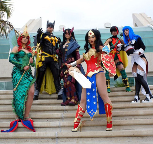 DC Ame-Comi SDCC Group Mera - Ashley Hay