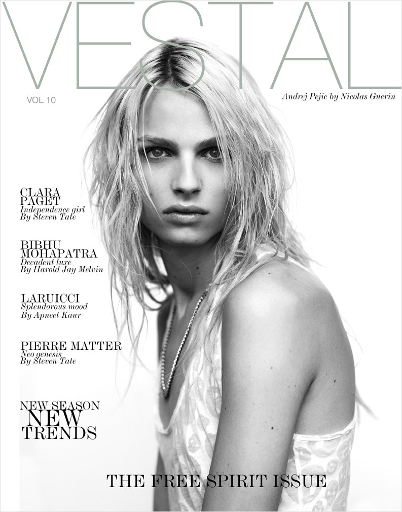 Andrej Pejic for Vestal #10