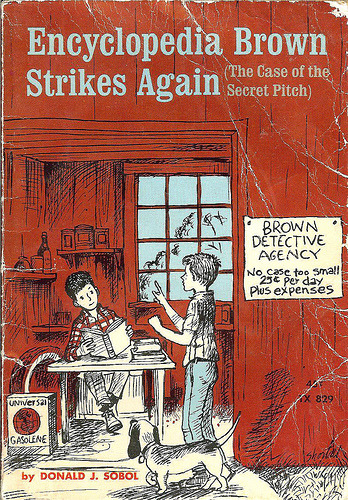 theparisreview:  RIP Encyclopedia Brown author Donald J. Sobol.
