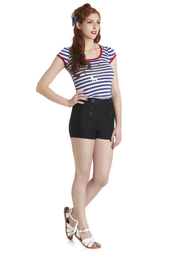 Ship-shape Sailorette (via ModCloth.com)