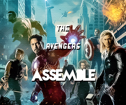 sexderman:  The Avengers Assemble: The Admins: scarlettjoho,starkamerica,and sexderman The Avengers Assemble (or TAA) is a tumblr group of 7 people The concept of TAA is basically a promo group of friends who share the same interests of superheros. We can talk to each other over a password-protected blog   -theavengersassemble.tumblr.com (You are to not give out this password to anyone) and basically fangirl with eachother and help eachother out, just like a big group of cool people. Another concept of TAA is to act like The Avengers but on tumblr. We will also have an open public blog to give advice, avengersadvice.tumblr.com and anyone from any fandom can come to our askbox, and tell us their problems. We will come together as a group and help everyone out, cause that's what superheroes do ;). We will also have our own blogs on the advice blog so that you can come to each individual Avenger and they will help out as well. Rules: Reblog this post. The more you reblog, the more we will notice you. Likes will be ignored You do not have to follow the admins, but it does help! But when you are in TAA, you are to follow all of the members. Have a carefree, cool personality GOOD LUCK!