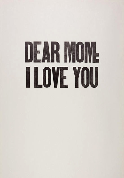 alecshao:  Dear Mom