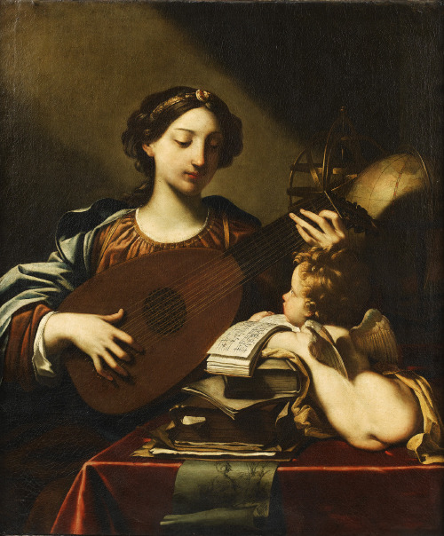Michele Desubleo [1602-1676] - Allegory of the music