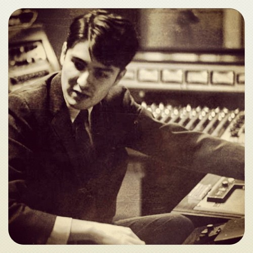 ardentstudios:  rachelandthecity:  John Fry in his engineering days… (Taken with Instagram at Ardent Studios)
