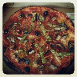 Yummy! #vegan #pizza (Pris avec Instagram)