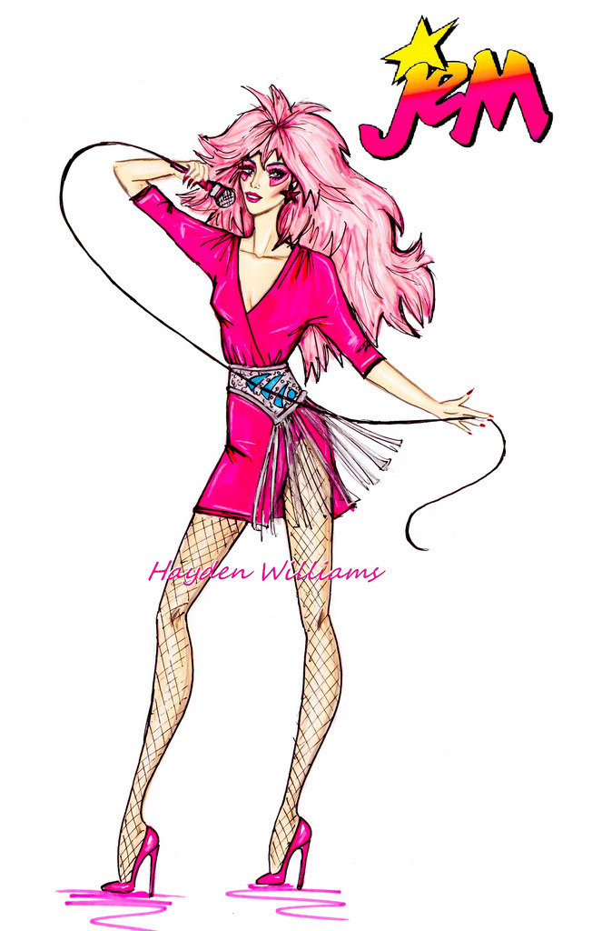 Jem 'Truly Outrageous!' by Hayden Williams