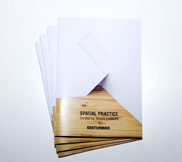 "disturber-magazine:  SPATIAL PRACTICE, the second issue of Disturber Magazine is available for sale. Curated by Tatiana Leshkina 38 pagesSoft coverdigital print on 170g - gloss paper6"" x 8,5"" (15cm x 21cm) Limited edition 300 Cover - Tatiana Lëshkina Place and event, space and mind, are not outside of each other. Mutually defining each other, they fuse unavoidably into a singular experience; the mind is in the world, and the world exists through the mind. Experiencing a space is a dialogue, a kind of exchange - I place myself in the space and the space settles in me. Juhani Pallasmaa Contributing artists include:Tatiana Leshkina, Gaël Paccard, David Hanes, Marc Philip Van Kempen, Sinta Werner, Matthieu Lavanchy, Anouk Kruithof, Lucas Blalock, Bertrand Planes, Noemie Goudal, Indre Serpytyte, Satomi Shirai, Eyal Pinkas, Yvonne Lacet, Rumiko Hagiwara, Florian Hildebrandt, Katja Novitskova, Letha Wilson"
