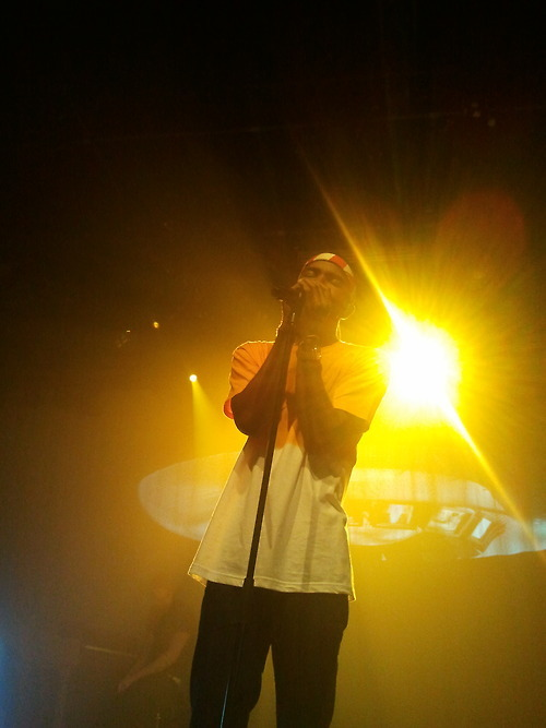 frankoceanfans:  great photo taken by scaredofbeaut1ful. follow her to see more from the show.