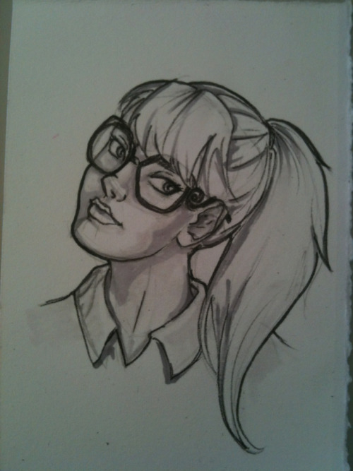 Desk sketch #100 (whaaa!?!)  Smarty Pants