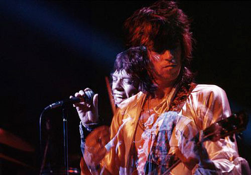 Glimmer Twinz: Mick Jagger & Keith Richards, 1972.By: Jim Marshall
