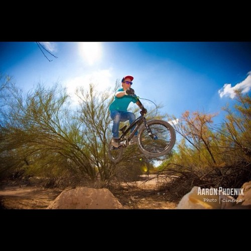Photo I took yesterday #5D #canon #dslr #blue #sky #bmx #bike #ramp #dirt (Taken with Instagram)