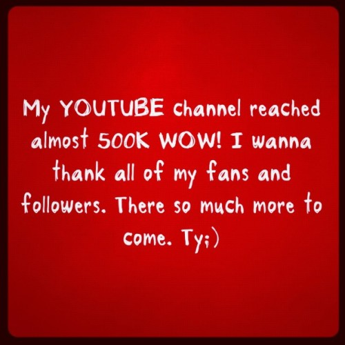 Thanks to all my fans, we're going for the Million. www.Youtube.com/delamuzica 👆👆👆🏆🏆🎬 #music #youtube #jj #singer #songwriter #musicismysoul #igers #text #letters #thankyou #like #talent #recordlabel #artist #staytuned #jusgramm (Taken with Instagram)