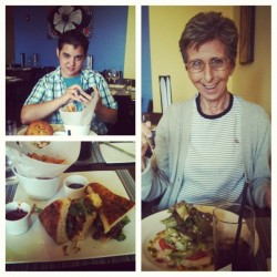 Just finished lunch with my sister and my nana :) #food #lunch #family #yummy  (Taken with Instagram)