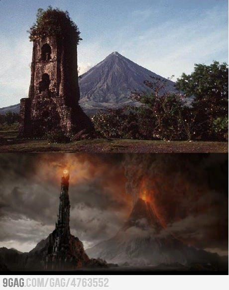 Mt. Mayon on LOTR!! Me so proud!!