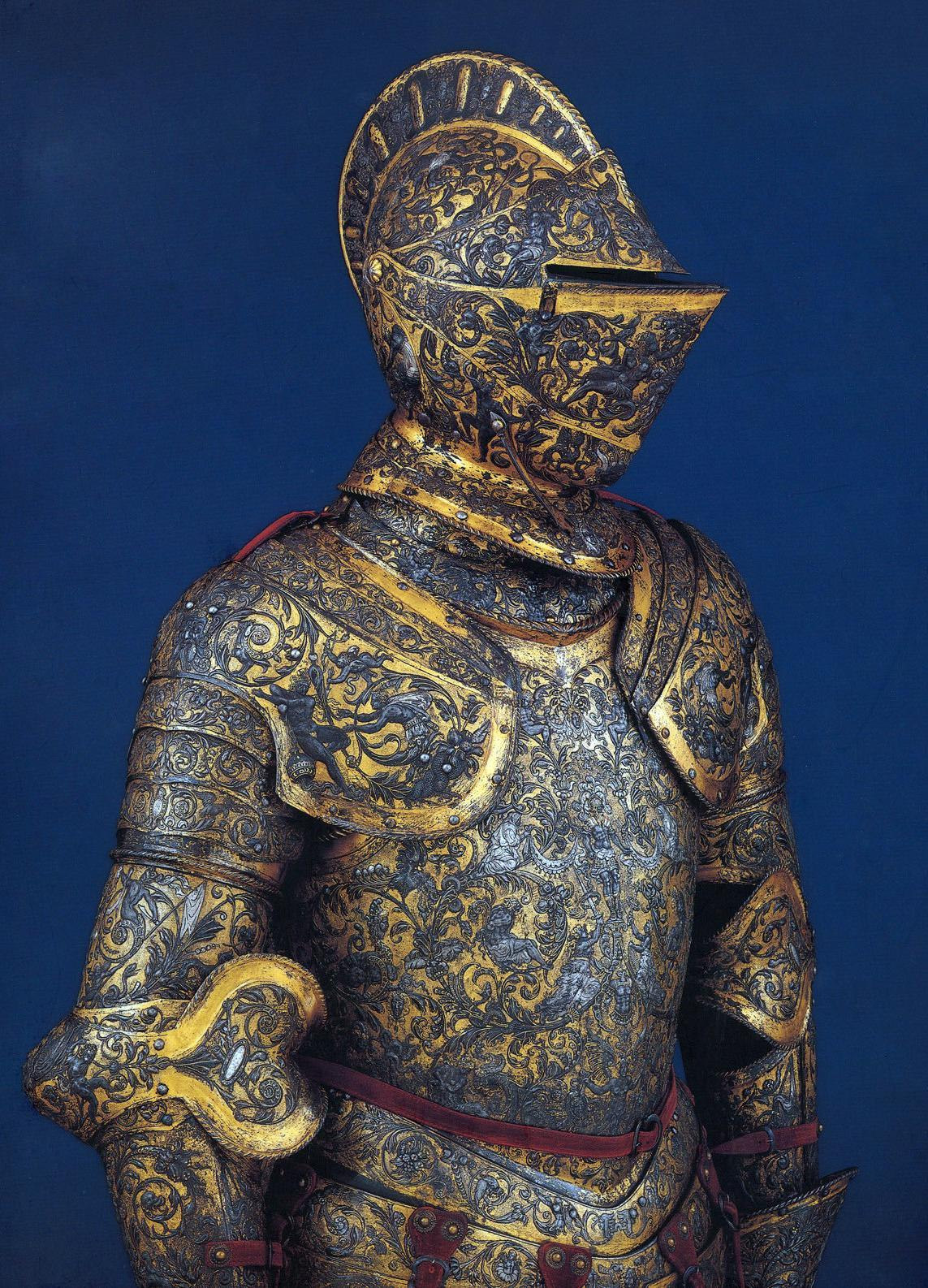 War Fashion - Armor of Henri II of France, about 1555